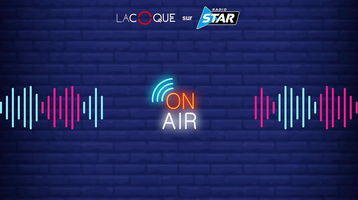La Coque passe à l'antenne de Radio Star !