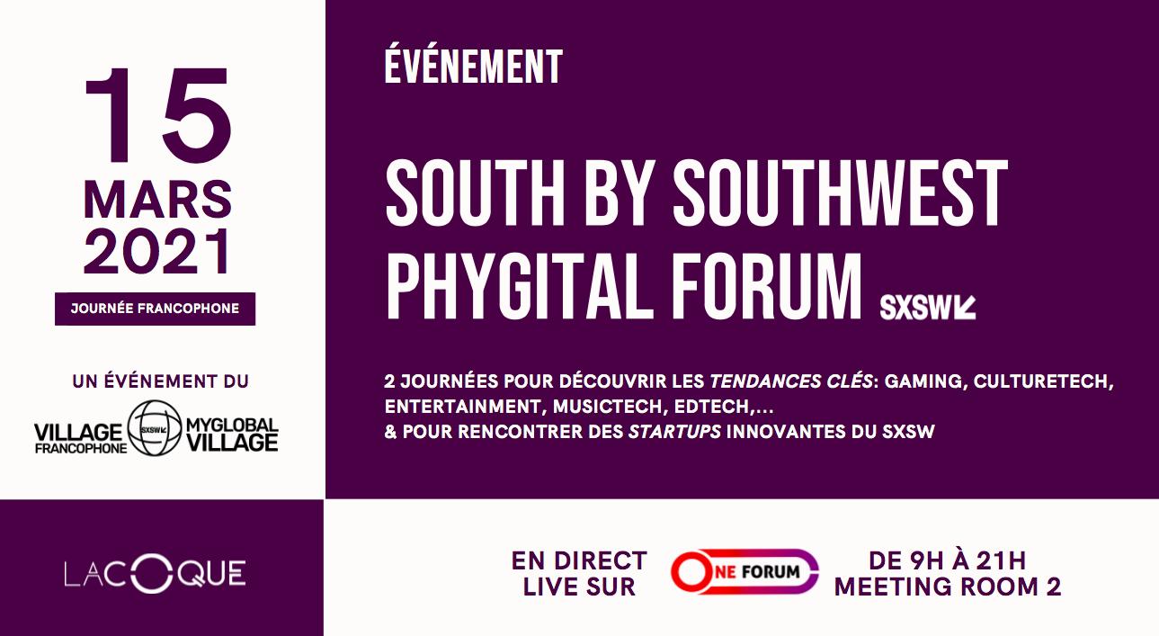 Aix-Marseille à la pointe des innovations dans les industries culturelles et créatives lors du SOUTH BY SOUTHWEST – SWSW D'austin