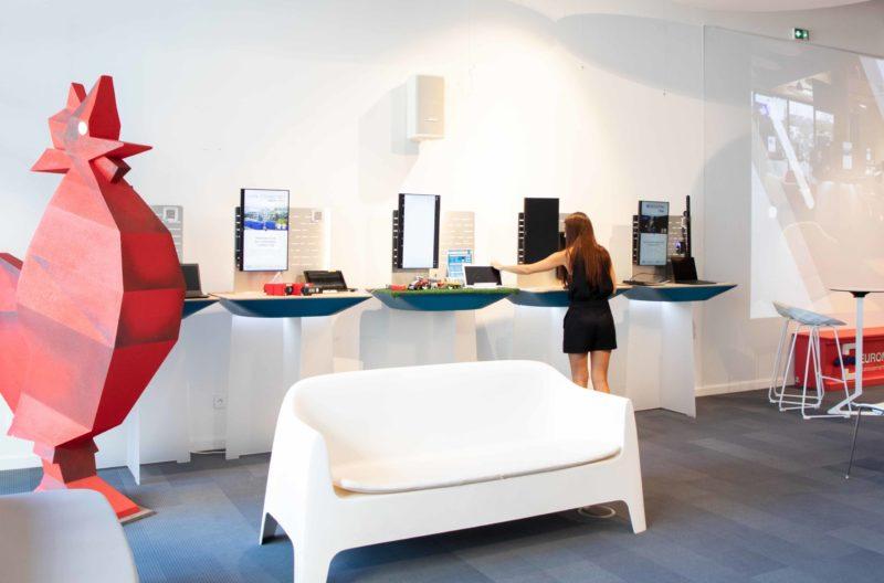 La Coque, showroom pour les Start-up