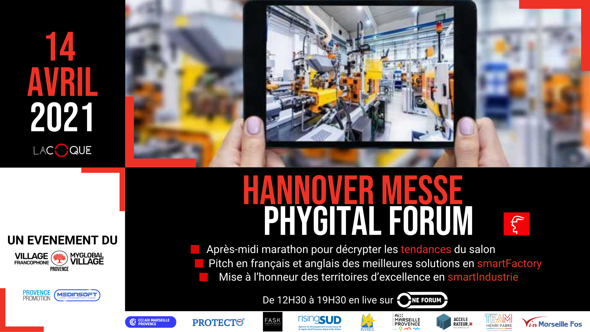 C.P Hannover Messe Phygital Forum